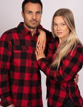Ladies´ Woven Plaid Flannel Shirt